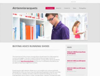 atrtennisracquets.webnode.com screenshot