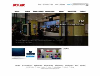 atrustcorp.com screenshot