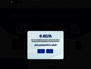 atsamed.com.mx screenshot