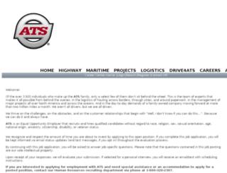 atsinc.acquiretm.com screenshot