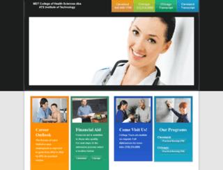 atsinstitute.edu screenshot