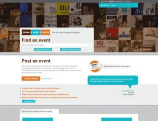 atspringding2017.brownpapertickets.com screenshot