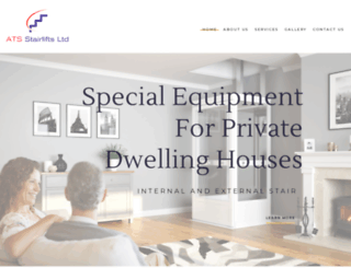 atsstairlifts.com screenshot