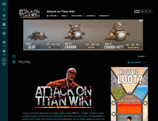 attackontitan.wikia.com screenshot