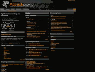 attackpoint.org screenshot