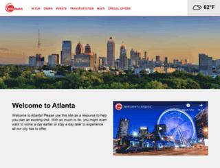 attend.atlanta.net screenshot