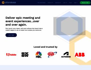 attendease.com screenshot
