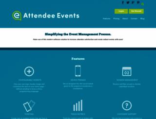 attendee.events screenshot