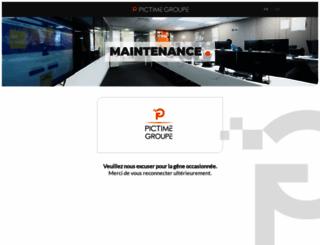 attente.promod.com screenshot