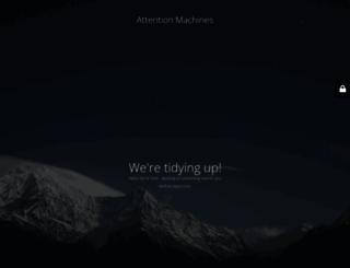 attentionmachines.com screenshot
