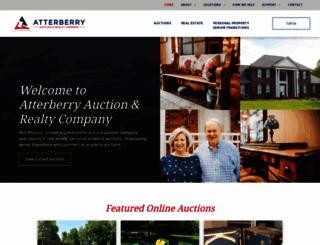 atterberryauction.com screenshot