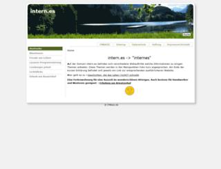 attergau.intern.es screenshot