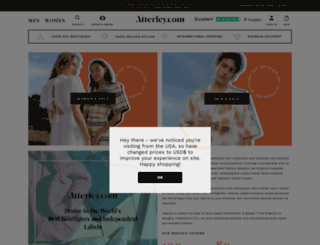 atterley.com screenshot