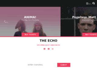 attheecho.com screenshot