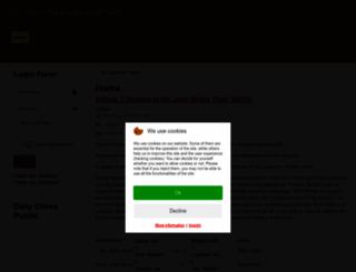 atticus.merseysidechess.org.uk screenshot