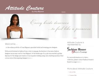 attitudecouture.co.za screenshot