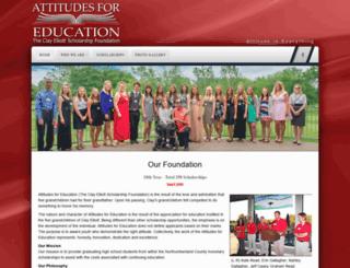 attitudesforeducation.com screenshot