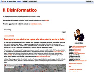 attivissimo.blogspot.com screenshot