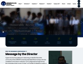 attock.comsats.edu.pk screenshot