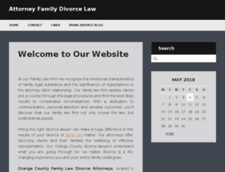 attorney-family-law-divorce-lawyer.com screenshot