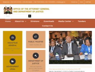 attorney-general.go.ke screenshot