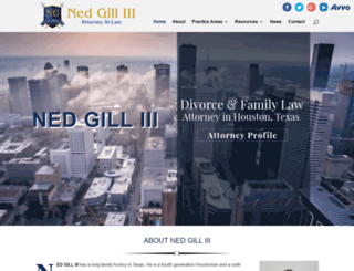 attorneynedgill.com screenshot