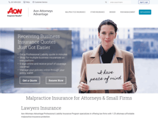 attorneys-advantage.com screenshot