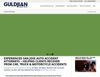 attorneysanjoseca.com screenshot