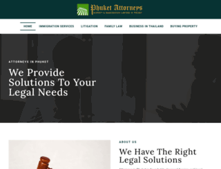 attorneysphuket.com screenshot