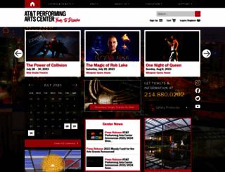 attpac.org screenshot