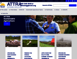 attra.ncat.org screenshot