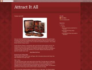 attract-it-all.blogspot.co.uk screenshot