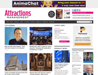 attractionsmanagement.com screenshot