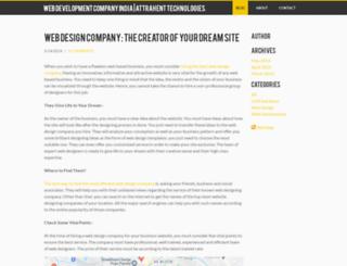 attrahenttechnologies.weebly.com screenshot