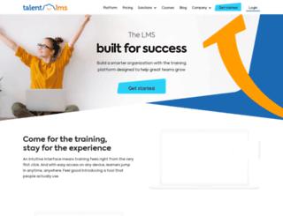 attuneup.talentlms.com screenshot