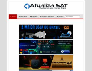 atualizasat.com screenshot