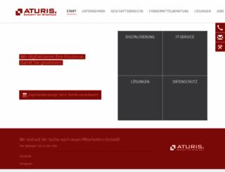 aturis.com screenshot