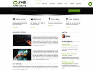 atwebdesign.com.au screenshot