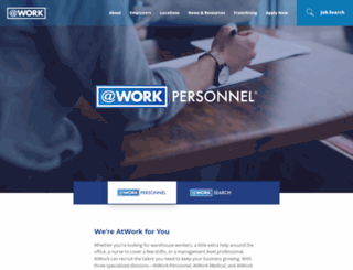 atworkpersonnel.com screenshot