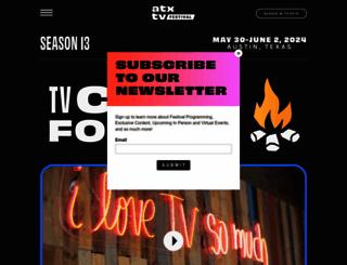 atxfestival.com screenshot