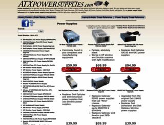 atxpowersupplies.com screenshot
