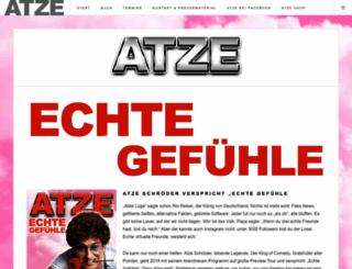 atzeschroeder.de screenshot