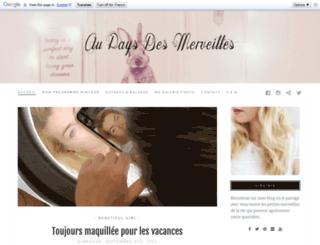 au-pays-des-merveilles.com screenshot