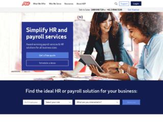 au.adp.com screenshot