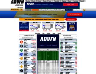au.advfn.com screenshot