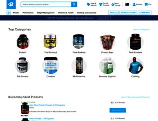 au.bodybuilding.com screenshot