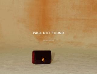 au.burberry.com screenshot