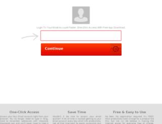 au.checkallemail.com screenshot