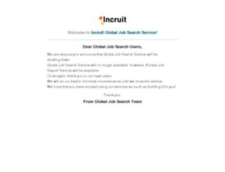 au.incruit.com screenshot
