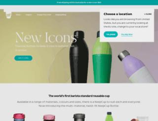 au.keepcup.com screenshot
